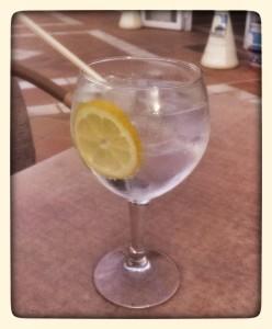 Uno gin et tonica, por favor?