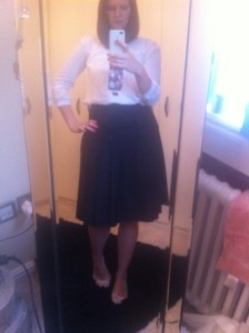 My fave Reiss skirt!