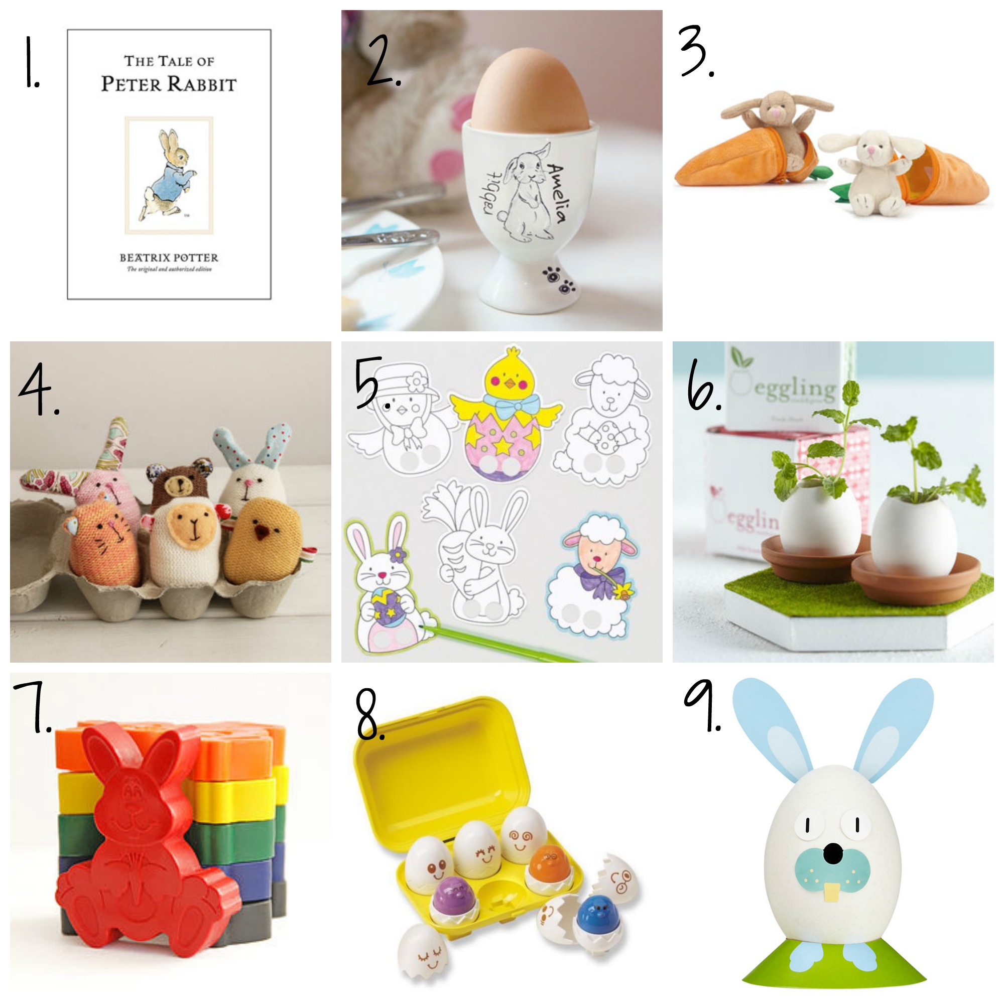 Easter gift ideas for under 10 not a frumpy mum easter final negle Choice Image