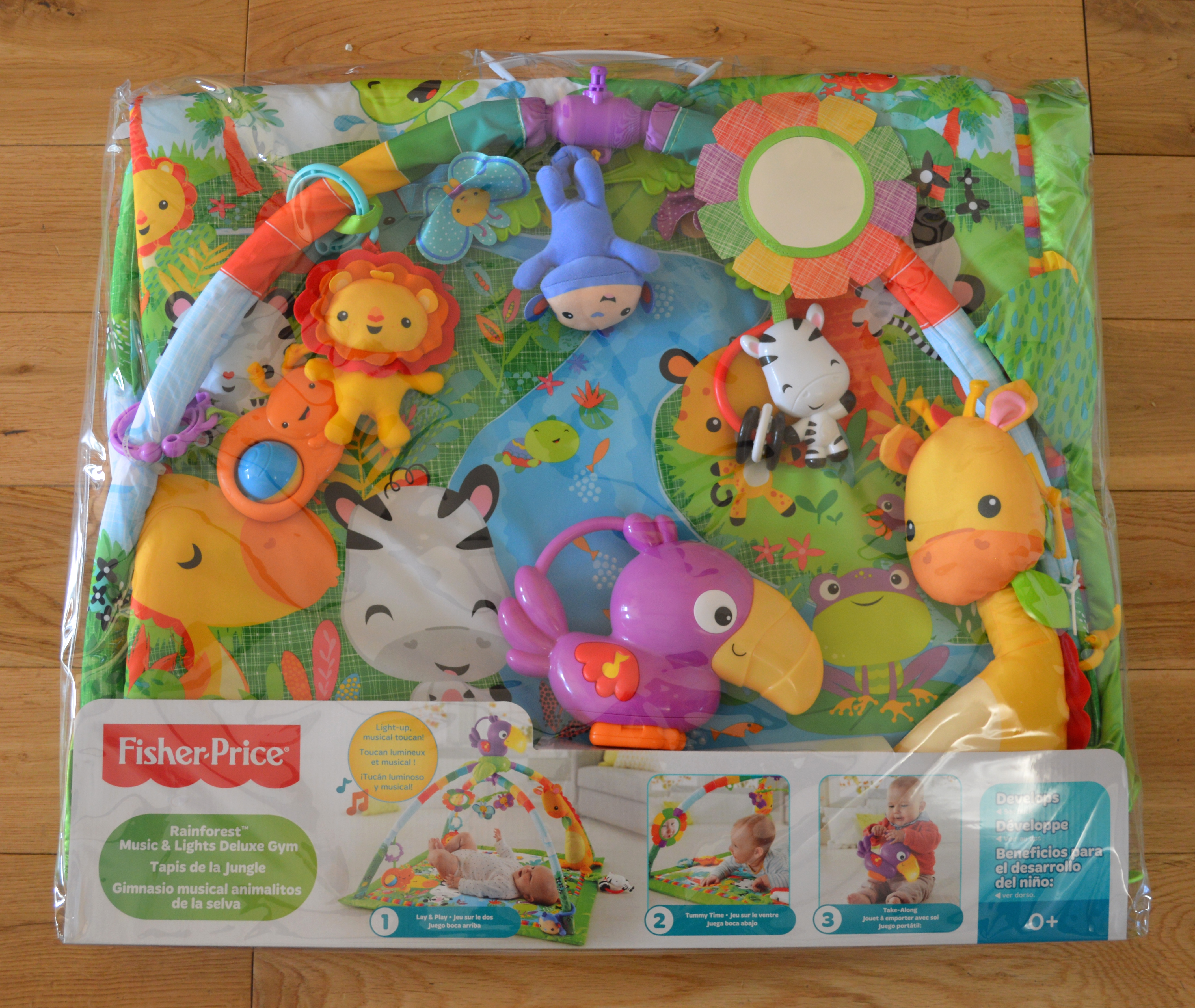 e6842f26442 Fisher-Price Rainforest Deluxe Gym Review - Not A Frumpy Mum
