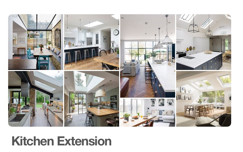 kitchen extension ideas. We Both Fell In Love With The Herringbone Floors And Whilst Iu0027d Always Imagined Another Cream Kitchen I Was Drawn To Rich Blues Greys Extension Ideas