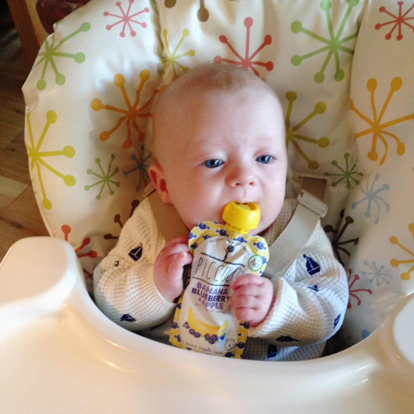 Weaning the second time round
