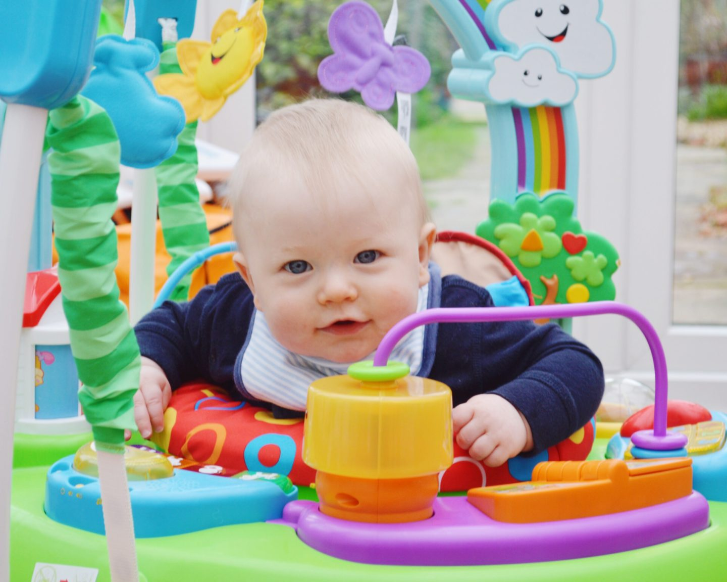 Fisher Price Laugh and Learn Jumperoo Review