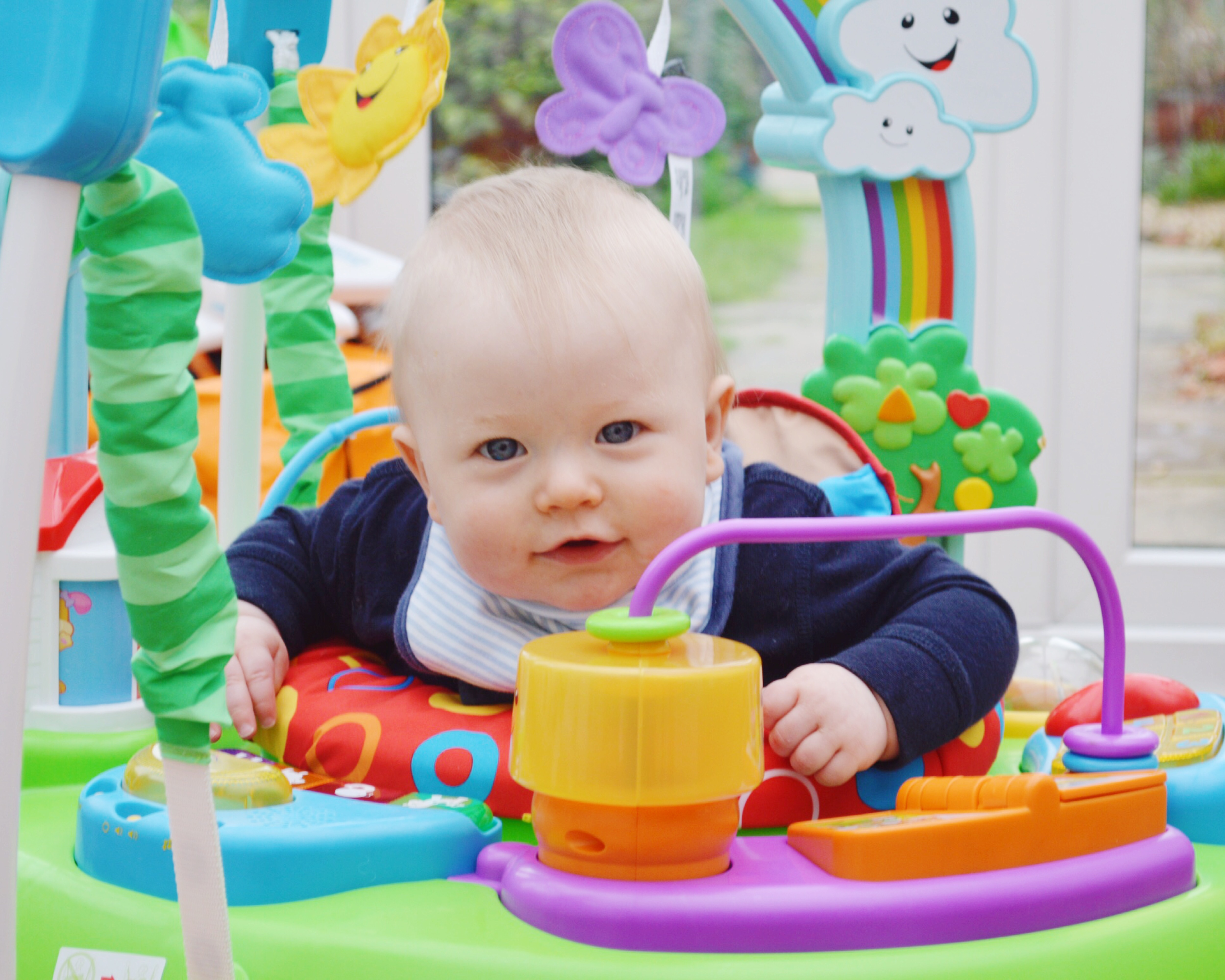 4d45779a6 Fisher Price Laugh and Learn Jumperoo Review - Not A Frumpy Mum